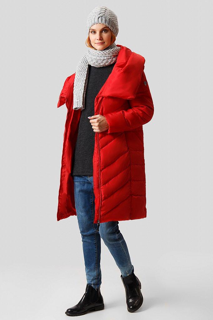 Пальто женское, Модель W18-12023, Фото №2