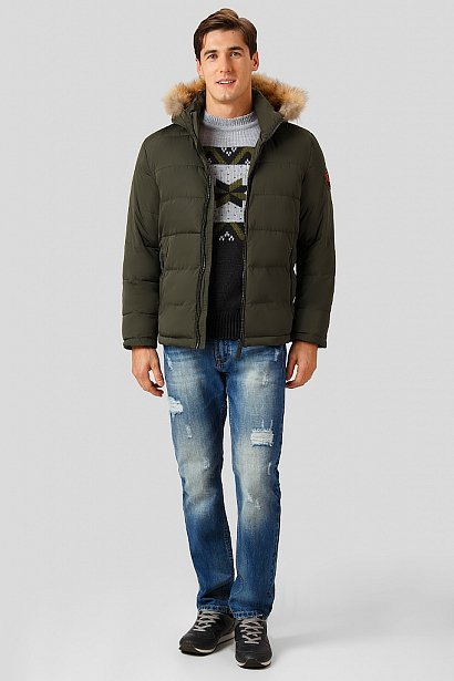 Куртка мужская, Модель W18-22011, Фото №2