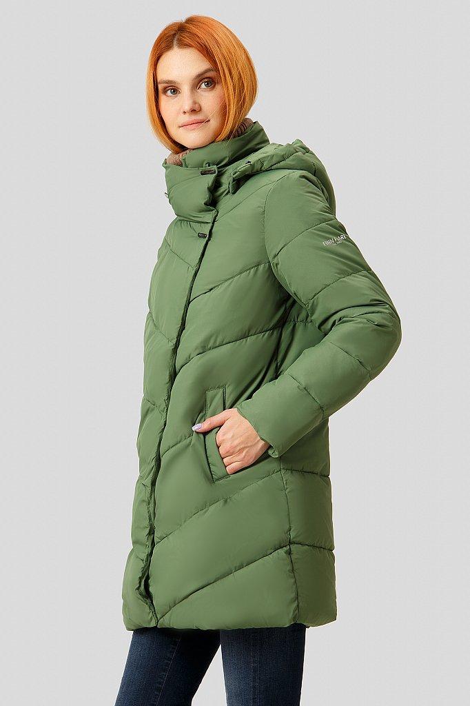 Полупальто женское, Модель W18-11024, Фото №4