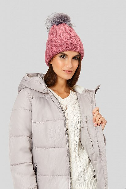 Пальто женское, Модель W18-11001, Фото №6