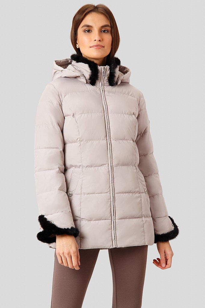 Куртка женская, Модель W18-11033, Фото №1