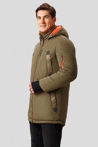 Полупальто мужское, Модель W18-22014, Фото №3