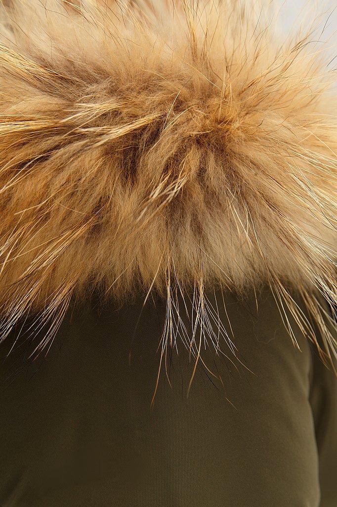 Пуховик женский, Модель W18-12046, Фото №6