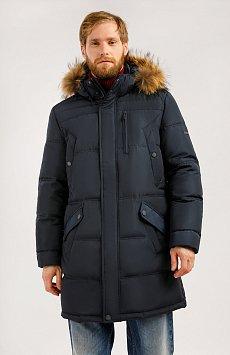 Пальто мужское W19-21004