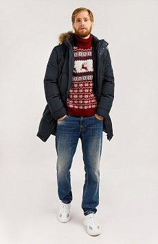 Пальто мужское, Модель W19-21004, Фото №2