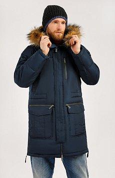 Пальто мужское, Модель W19-22003, Фото №1