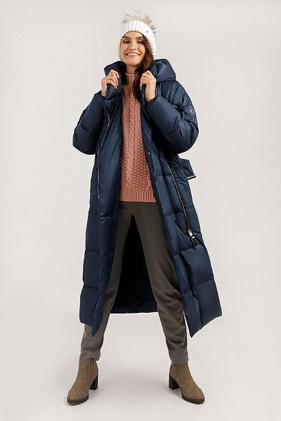 Пальто женское, Модель W19-12035, Фото №2