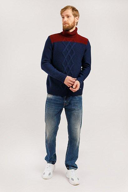 Джемпер мужской, Модель W19-22103, Фото №2