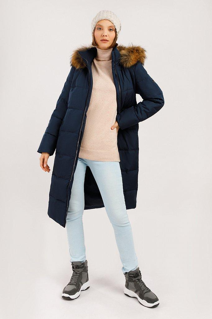 Пальто женское, Модель W19-11007, Фото №2