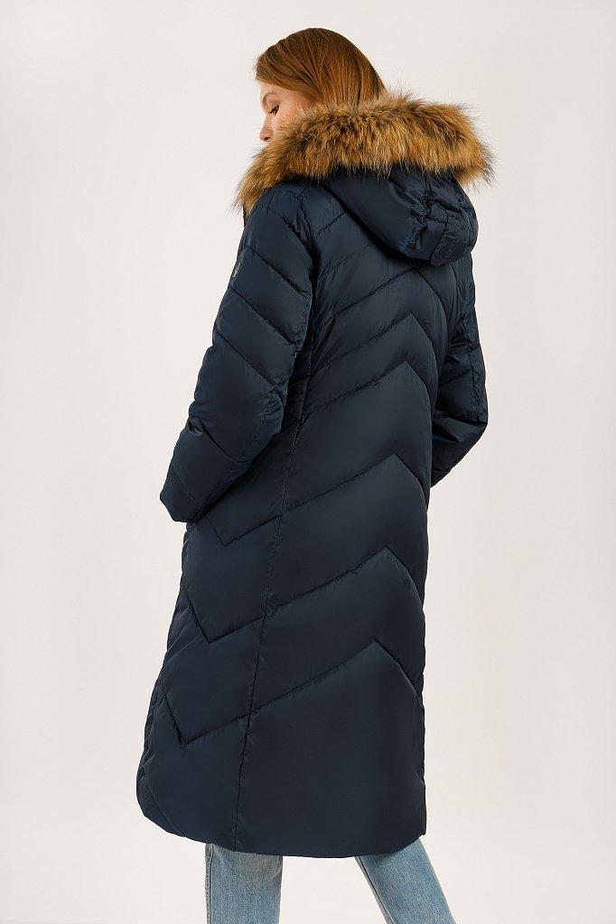 Пальто женское, Модель W19-11012, Фото №4