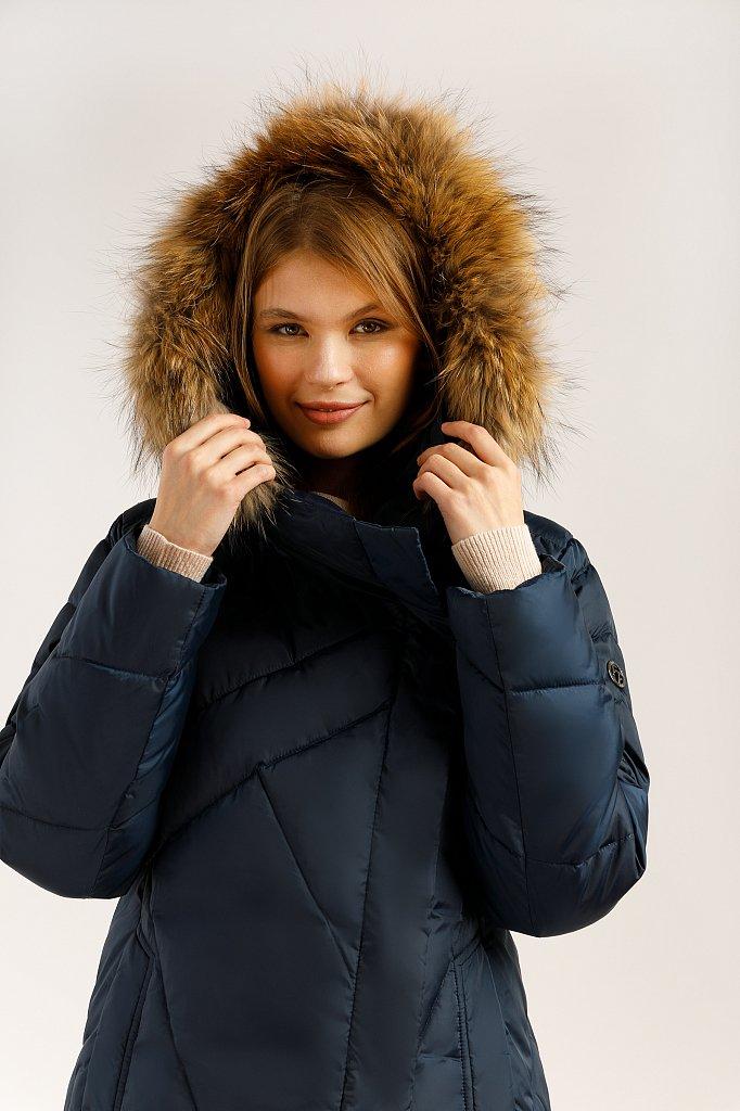 Пальто женское, Модель W19-11012, Фото №5