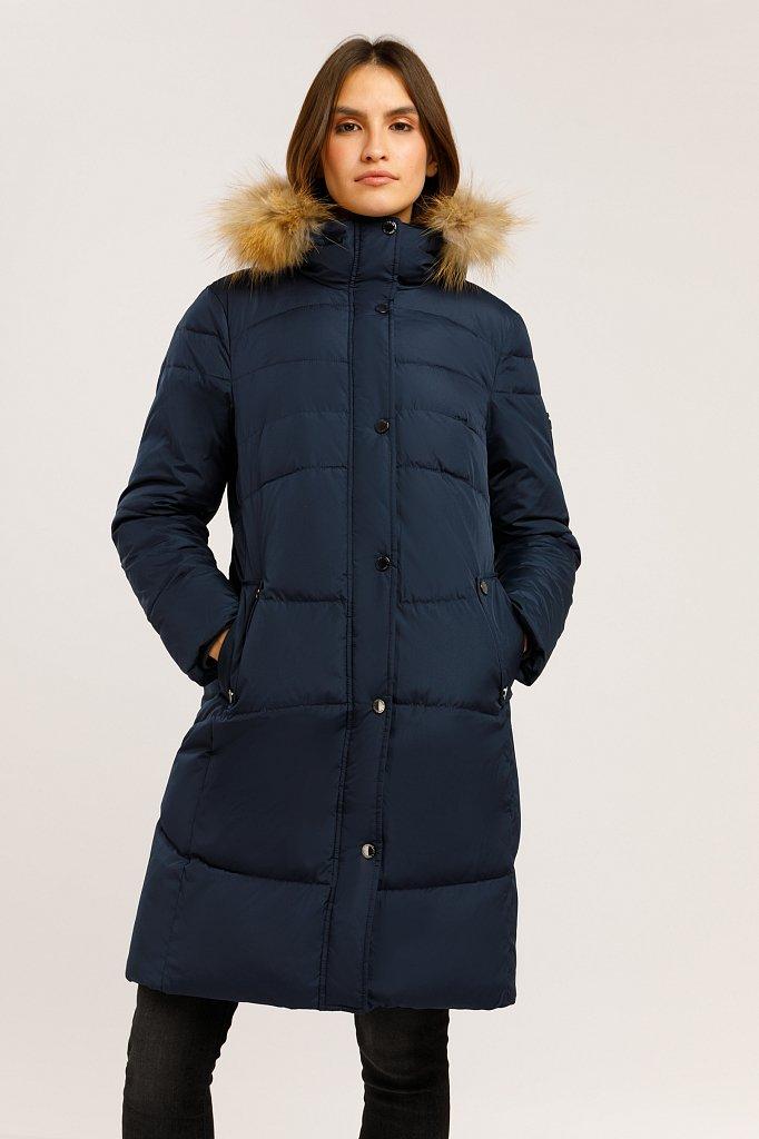 Пальто женское, Модель W19-11023, Фото №1