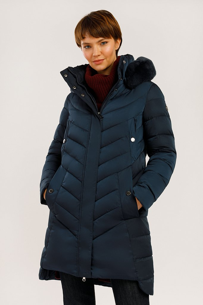 Пальто женское, Модель W19-12005, Фото №1