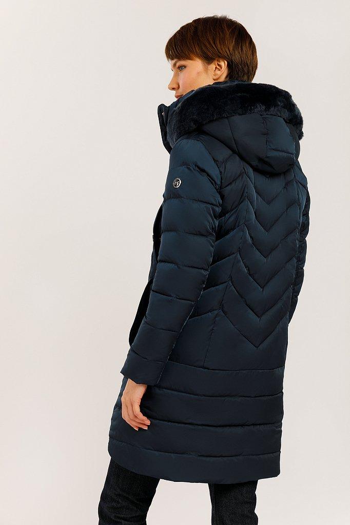 Пальто женское, Модель W19-12005, Фото №4