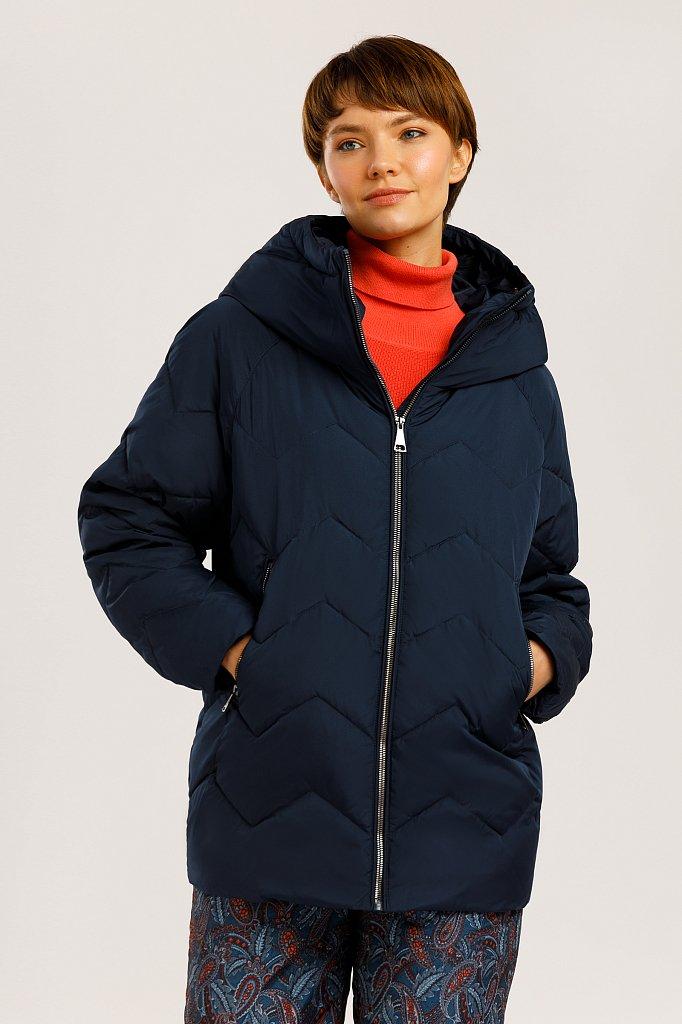 Куртка женская, Модель W19-12016, Фото №1