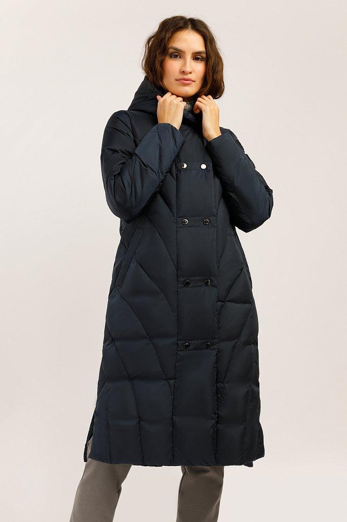 Пальто женское, Модель W19-12038, Фото №1
