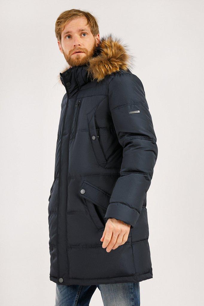 Пальто мужское, Модель W19-21004, Фото №3