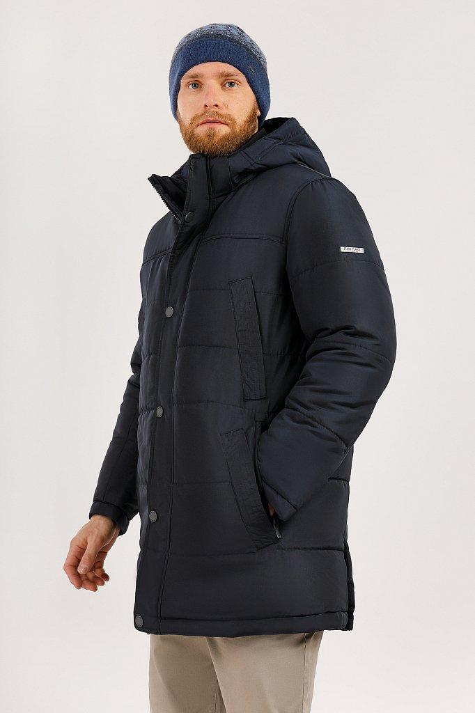 Пальто мужское, Модель W19-21012, Фото №3