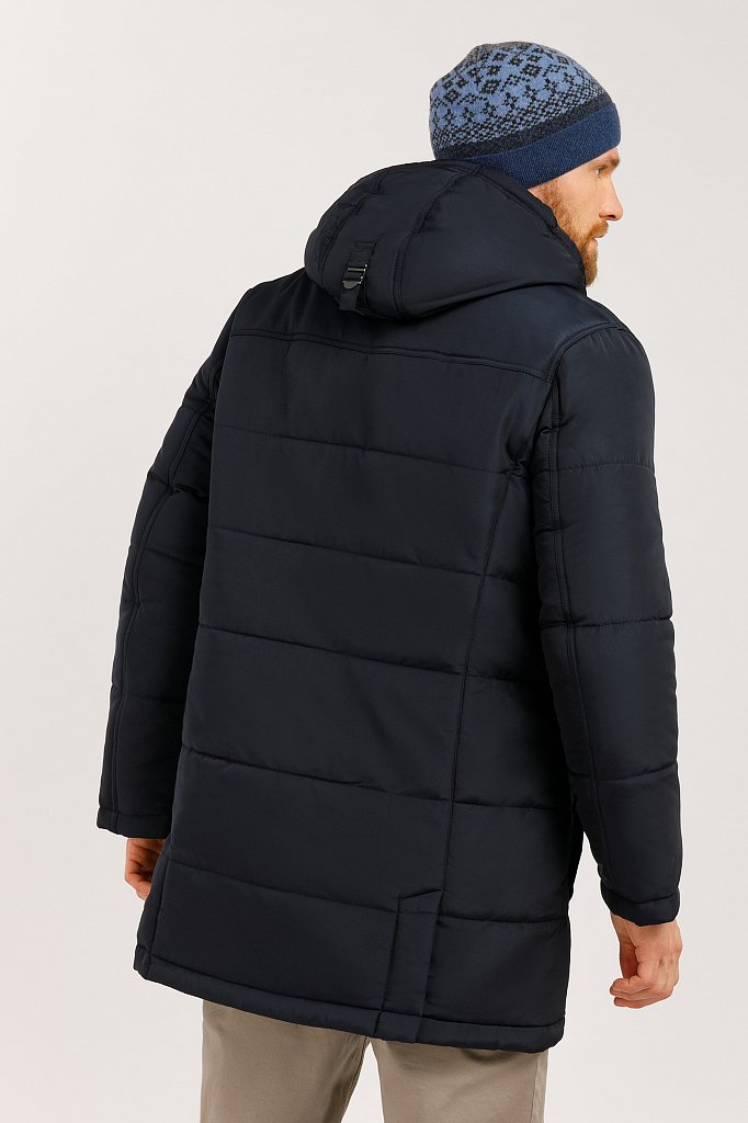 Пальто мужское, Модель W19-21012, Фото №4