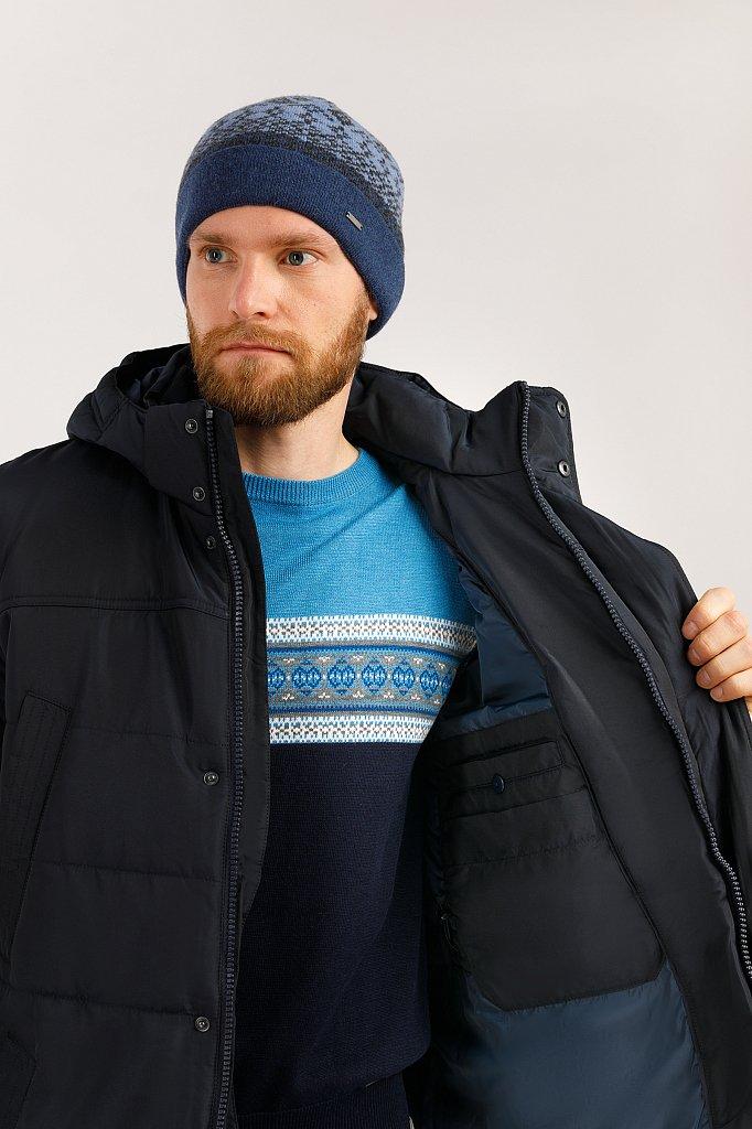 Пальто мужское, Модель W19-21012, Фото №5