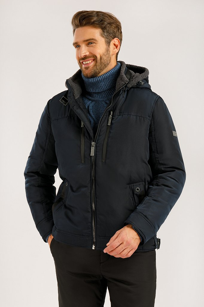 Куртка мужская, Модель W19-22002, Фото №1