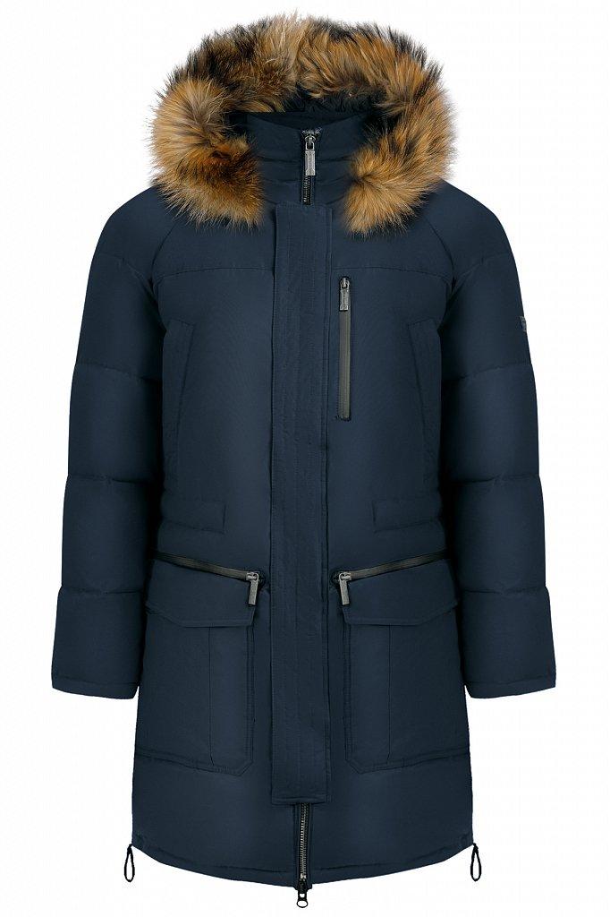 Пальто мужское, Модель W19-22003, Фото №7