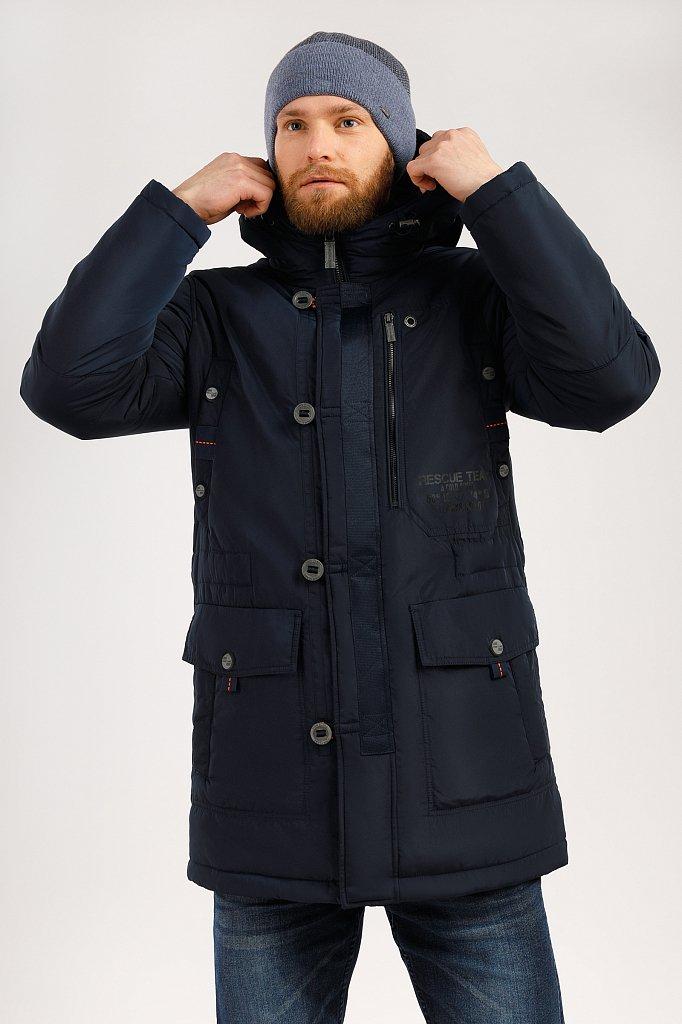 Пальто мужское, Модель W19-22005, Фото №1