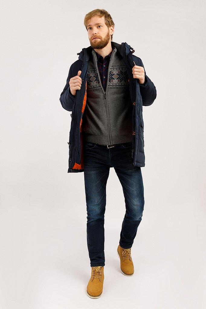 Пальто мужское, Модель W19-22005, Фото №2
