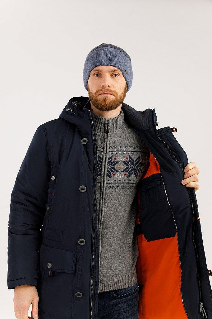 Пальто мужское, Модель W19-22005, Фото №5