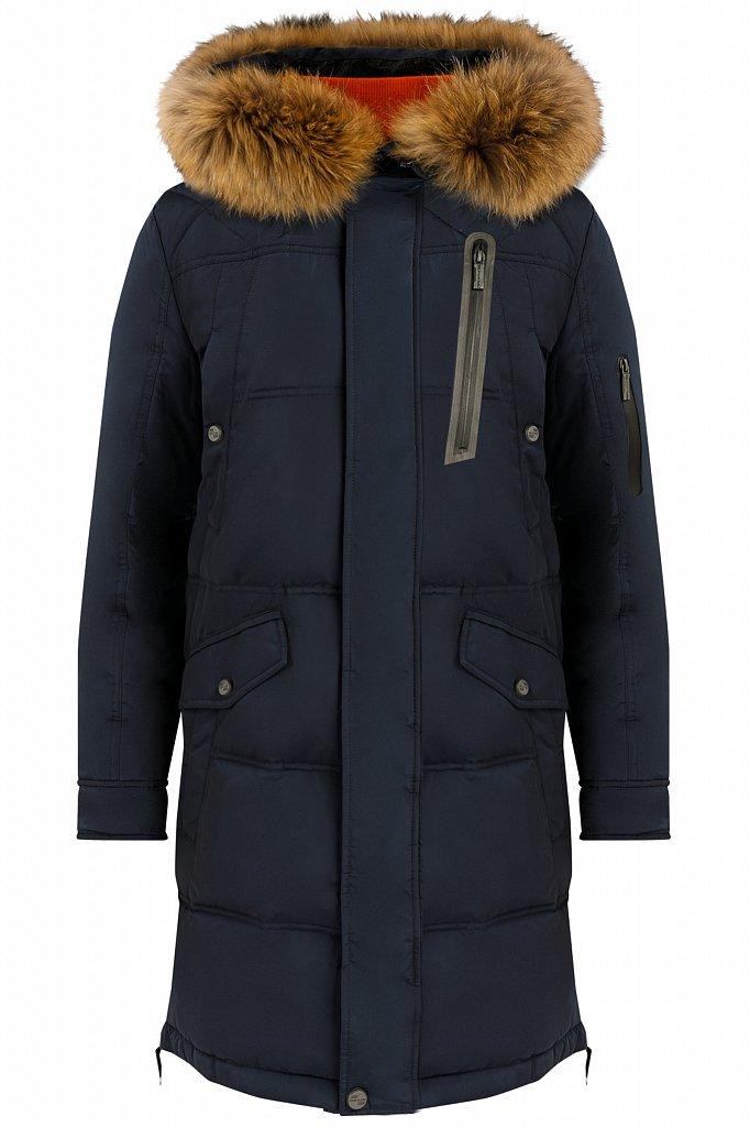 Пальто мужское, Модель W19-22007, Фото №6