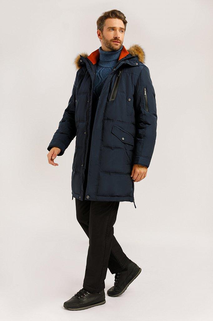 Пальто мужское, Модель W19-22007, Фото №2