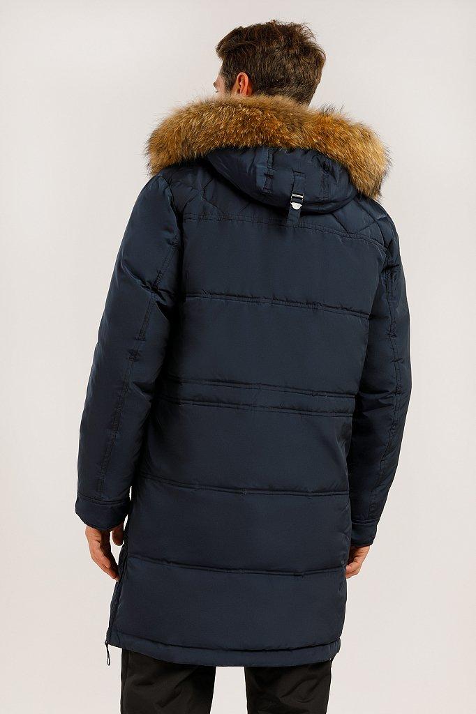 Пальто мужское, Модель W19-22007, Фото №4