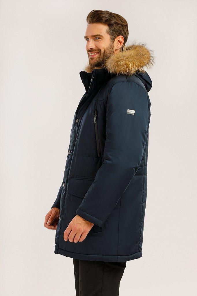 Пальто мужское, Модель W19-22012, Фото №3