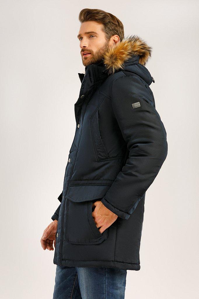 Полупальто мужское, Модель W19-22015, Фото №2
