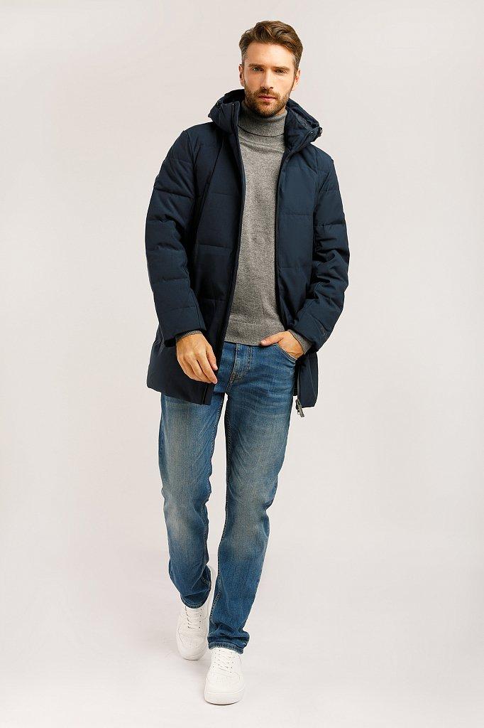 Полупальто мужское, Модель W19-22026, Фото №2