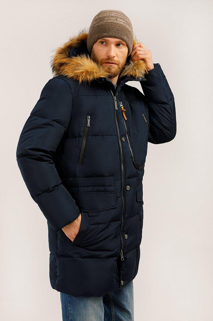 Пальто мужское, Модель W19-22027, Фото №3