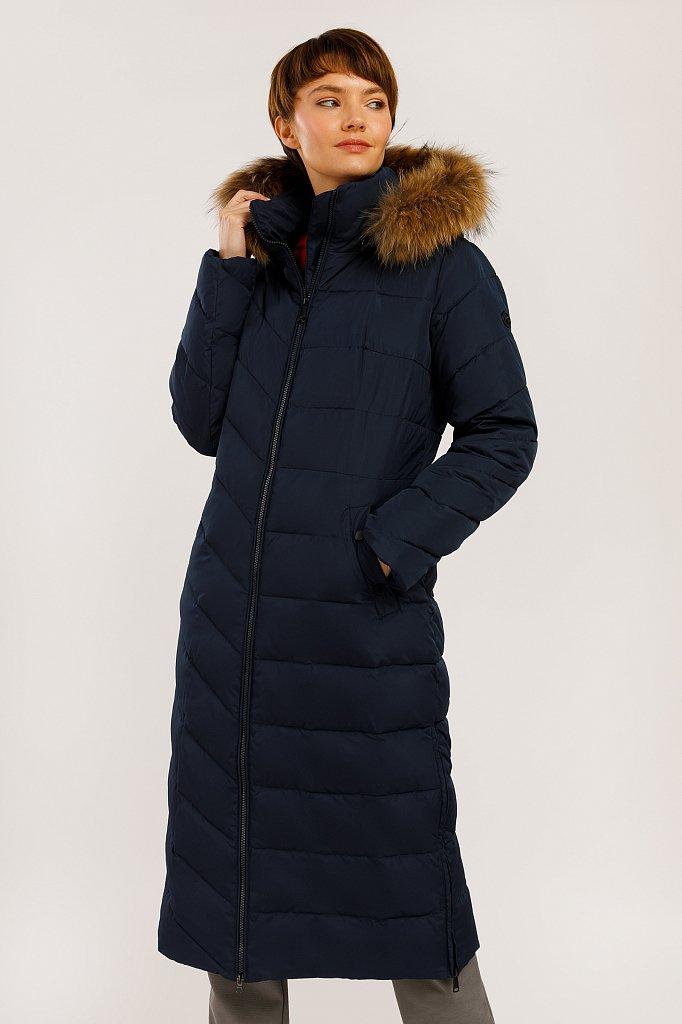 Пальто женское, Модель W19-32002, Фото №1