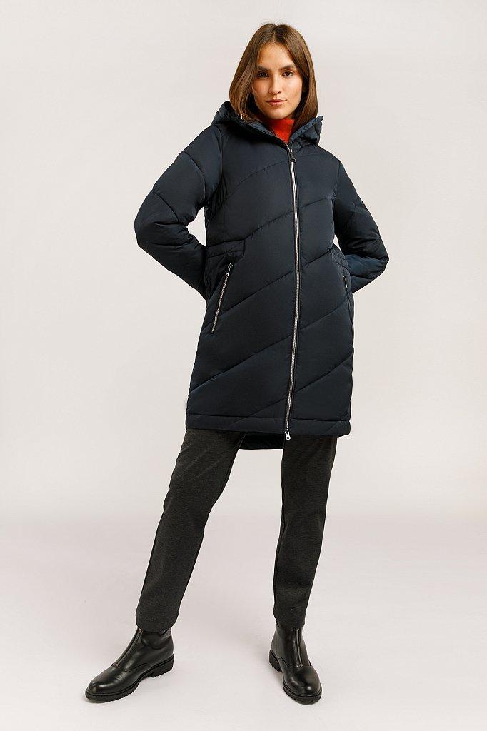 Пальто женское, Модель W19-32013, Фото №2