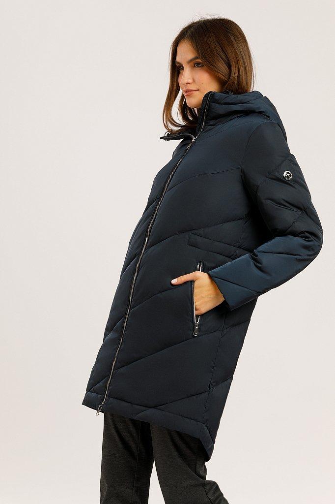 Пальто женское, Модель W19-32013, Фото №3