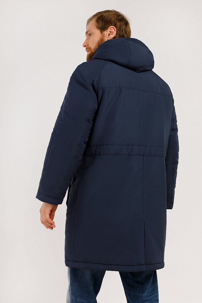 Пальто мужское, Модель W19-42003, Фото №4