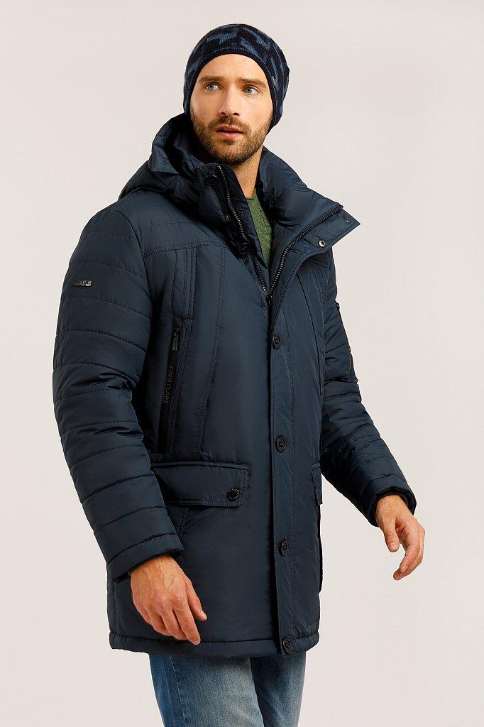 Полупальто мужское, Модель W19-42004, Фото №3