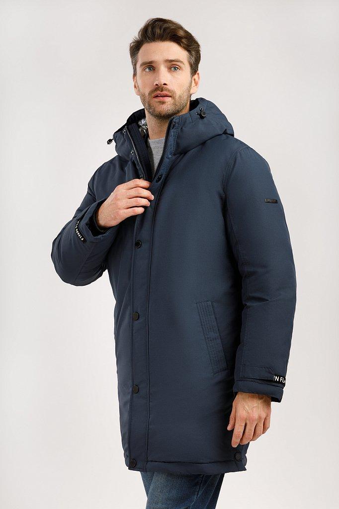 Пальто мужское, Модель W19-42008, Фото №3