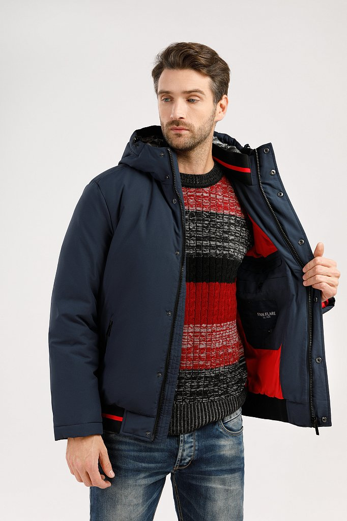 Куртка мужская, Модель W19-42009, Фото №5