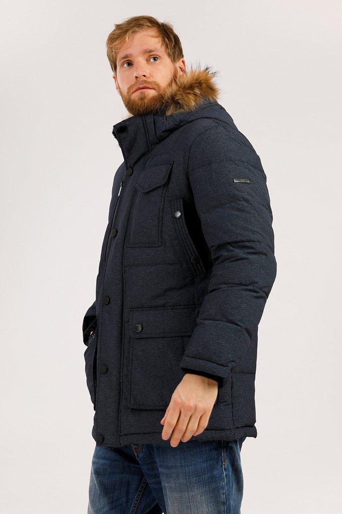 Полупальто мужское, Модель W19-42012, Фото №3