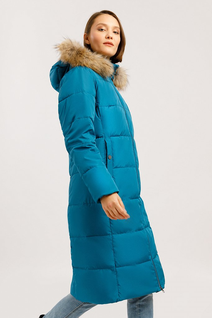 Пальто женское, Модель W19-11007, Фото №3