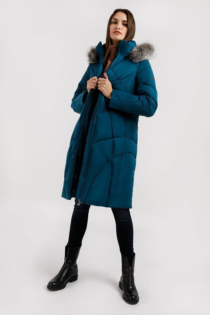 Пальто женское, Модель W19-11030, Фото №2