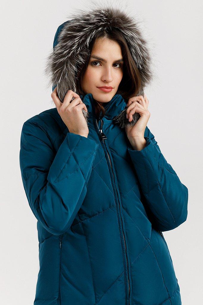 Пальто женское, Модель W19-11030, Фото №5