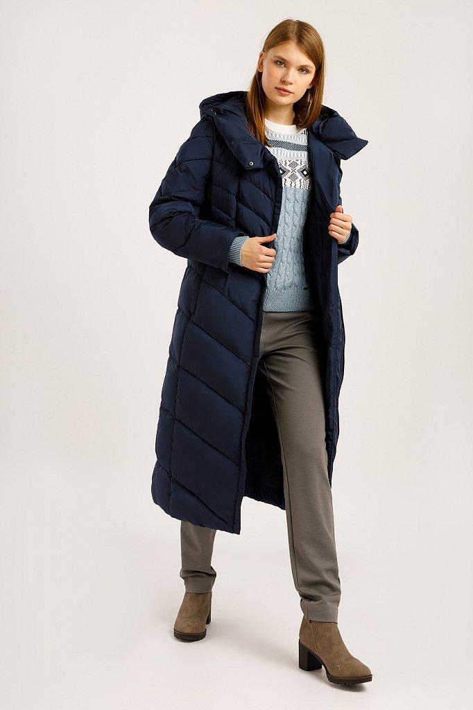 Пальто женское, Модель W19-11026, Фото №2