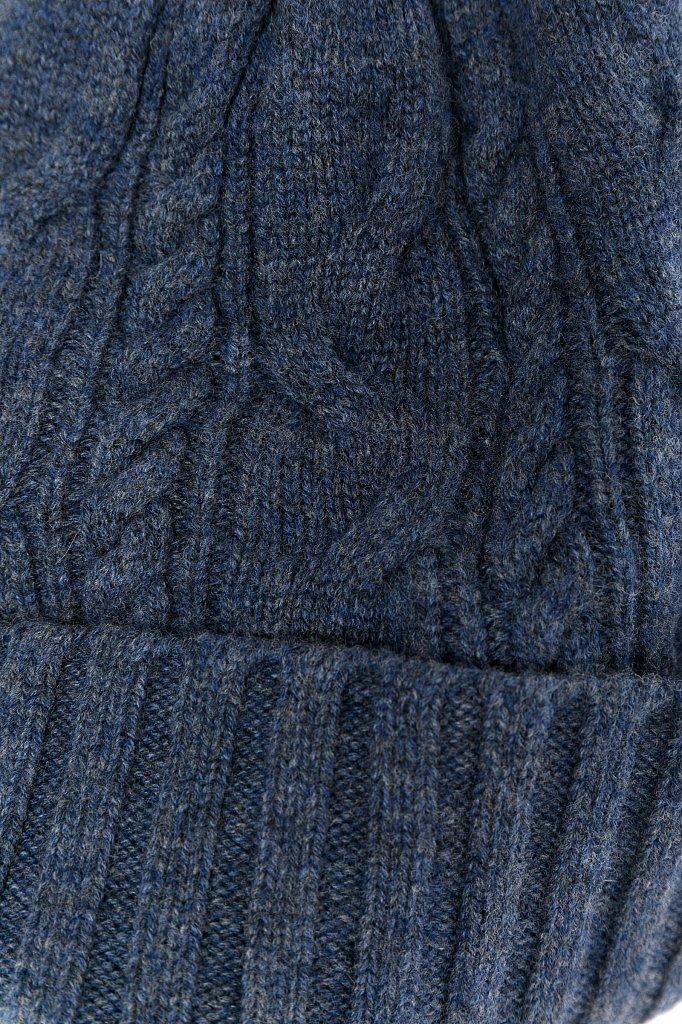 Шапка женская, Модель W19-11151, Фото №4