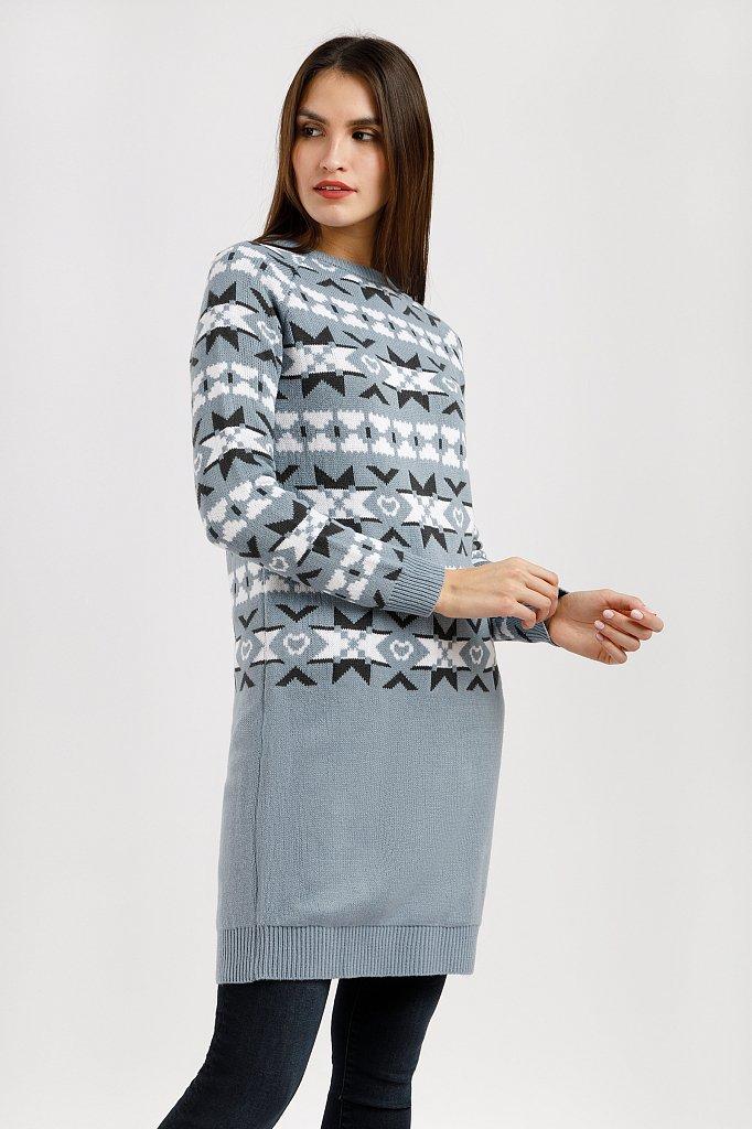 Платье женское, Модель W19-12106, Фото №1